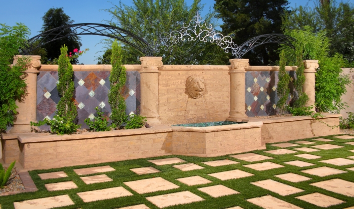 AAS | Architectural Precast | Residential and Commercial Projects | Pavements, Columns, Wall Coping