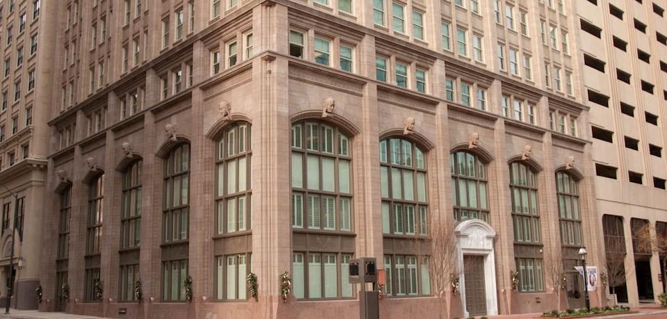 PROJECT: 714 Main Street   Precast, GFRC   Schwarz-Hanson Architects   General Contractor: KHK Group, Ltd   Bear Masonry