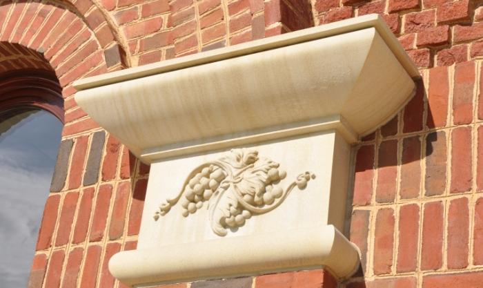 PROJECT: Grapewine Convention & Visitors Bureau | Cast Stone | Architect: ArchiTexas | Contractor: Thomas S Byrne