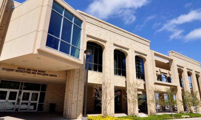 PROJECT: ACU Wellness Center   Cast Stone
