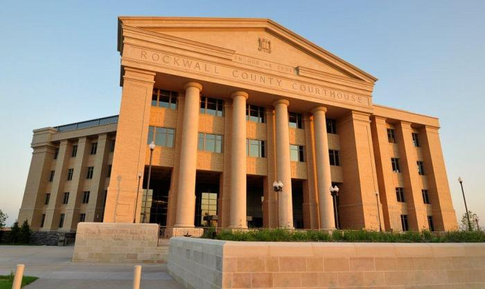 PROJECT: Rockwell County Courthouse   Precast   Brinkley Sargent Architects   Manhattan Construction   DMG Masonry