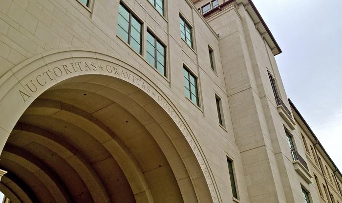 PROJECT: Texas State University | Cast Stone | Architect: Morris Architects | C W Oates Masonry