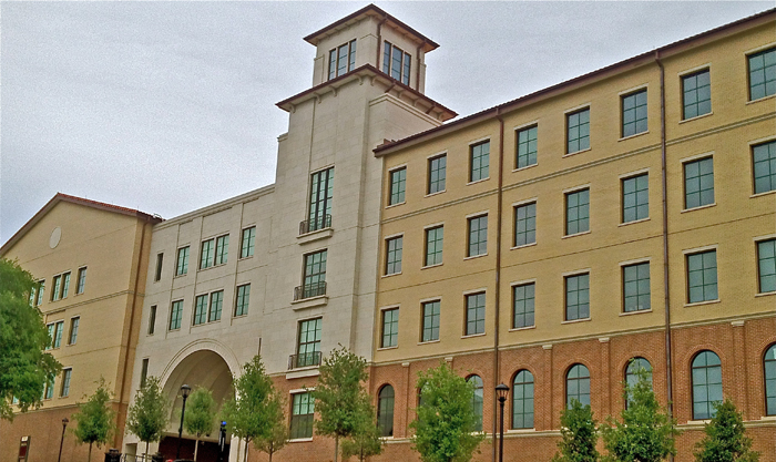 AAS | Cast Stone, Archiectural Precast | Texas University Architect: Morris Architects | Mason: CW Oats