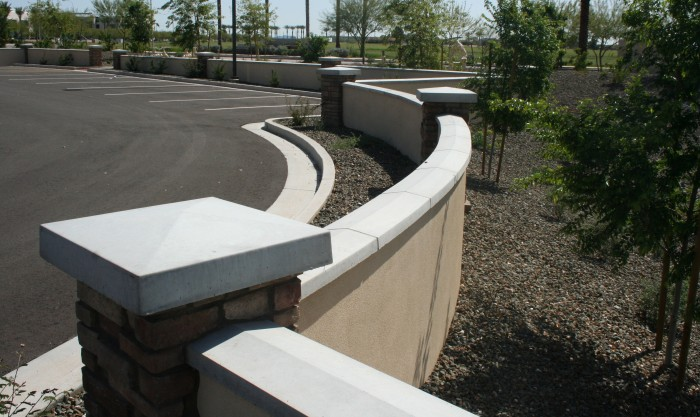 AAS | Architectural Precast Wallcaps | Hampton Inn - Homewood | Mason: Decorative Masonry