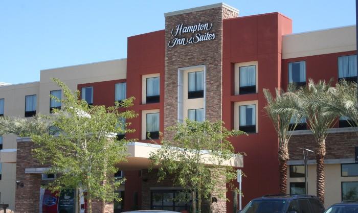 AAS | GFRC - Consistent Quality | Hampton Inn - Homewood | Mason: Decorative Masonry | SEE CASE STUDY ...