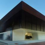 LA Sports Hall of Fame | Cast Stone | Architect: Trahan Architects | Masonry Contractor: Masonry Arts