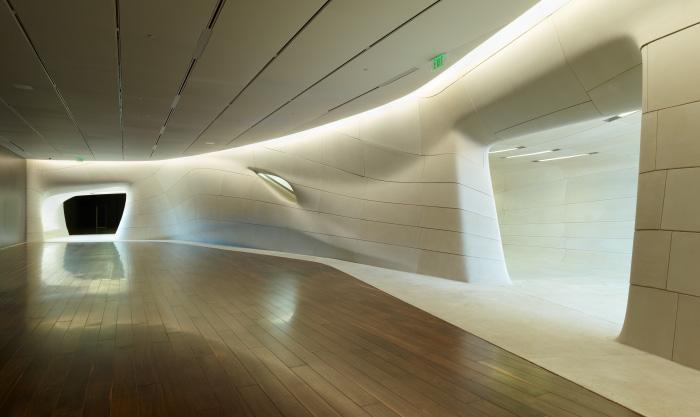 LA Sports Hall of Fame | Cast Stone | Architect: Trahan Architects | Masonry Contractor: Masonry Arts | SEE CASE STUDY ...