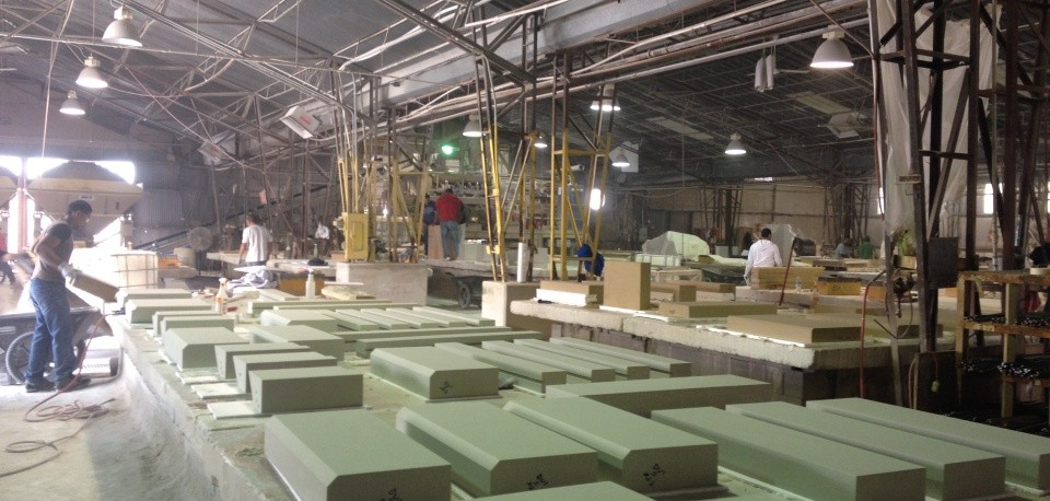 Advanced Architectural Stone = AAS | Formely Advanced Cast Stone - ACS | Technology | Team | Customer Focus