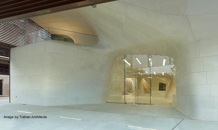LA Museum & Sports Hall of Fame | Cast Stone | Trahan Architects | VCC | Masonry Arts