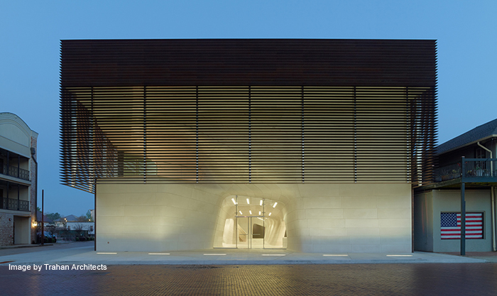 LA Museum & Sports Hall of Fame | Cast Stone | Trahan Architects | VCC | Masonry Arts