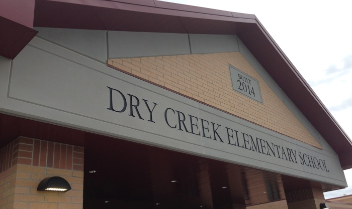 Dry Creek Elementary School | GFRC (Light Weight Concrete) Panels | Sandstrom Architecture | Contractor: Westland Construction