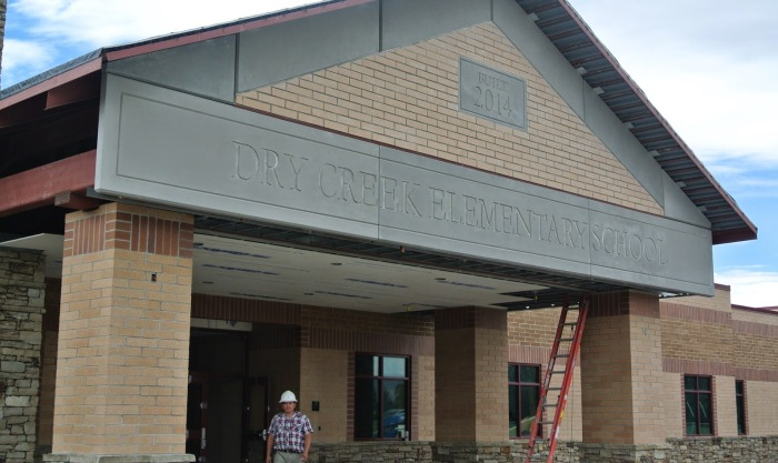 Dry Creek Elementary School | GFRC Panels | Sandstrom Architecture | Contractor: Westland Construction