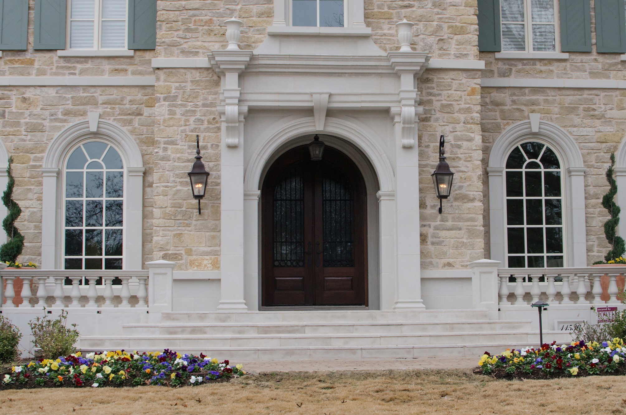 Residential Stone Columns : Architectural stone project images
