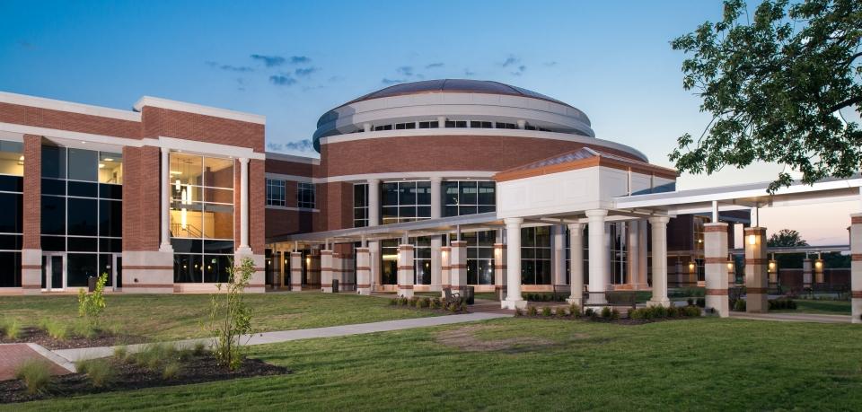 Collin Campus Library   Architectural Precast   Cast Stone   Architects:PBK Architects   Desired Design Finish and Dome