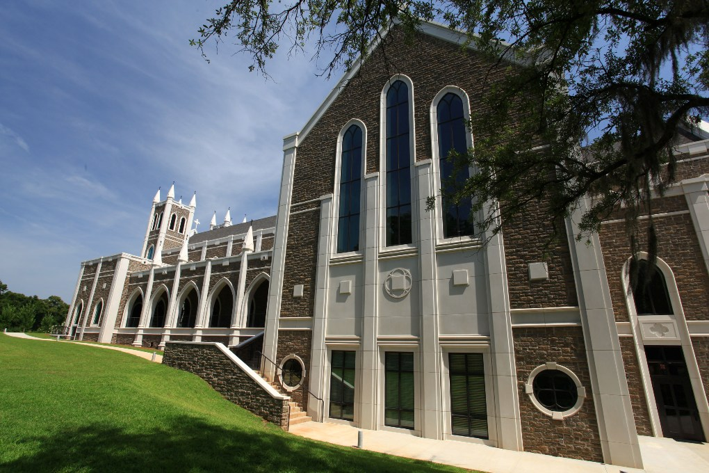 St Peters Anglican Church, Tallahassee, Florida | AAS Product Materials: Cast Stone, GFRC | Bradley Touchstone/Touchstone Architecture | 2014 AAS CSI Award Entry