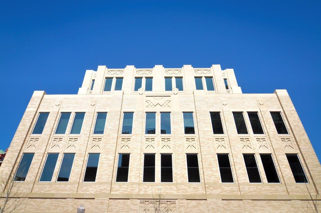 Sundance Square West Building also known as The Westbrook | Cast Stone Exterior Design | Architect: Bennett Benner Pettit