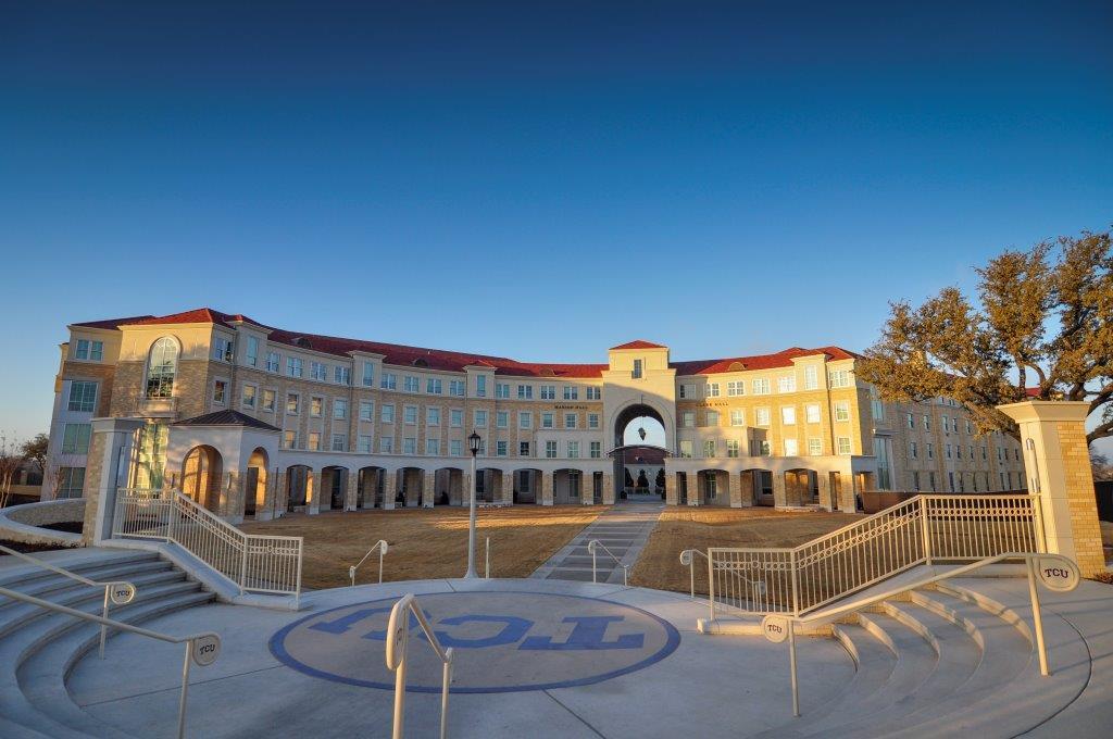 TCU Worth Hills Village | Cast Stone Exterior Design | KSQ Architects | Wilks Masonry