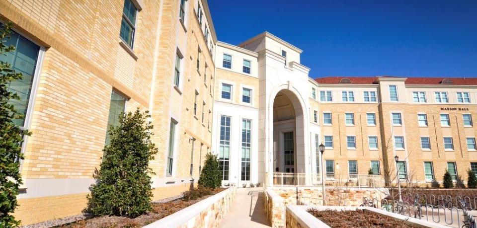 TCU Worth Hills Village | Cast Stone Exterior Design | KSQ Architects | Wilks Masonry