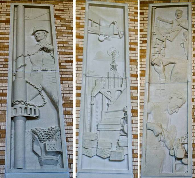 AAS 2014 APA Award | TCU Relief Panels | Finish and Precision for Design Appeal | HKS Architects | General Contractor: Austin Commercial