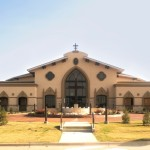 PROJECT: St Jude Catholic Church, Mansfield, TX | Cast Stone with Specialized Color Effects