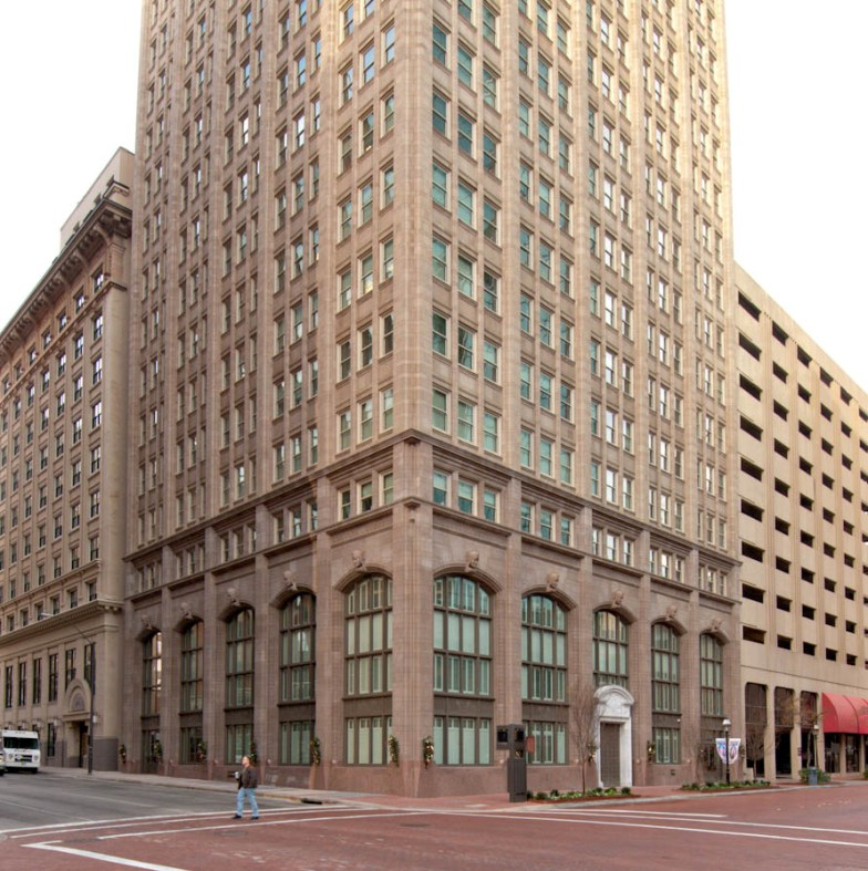 AAS PROJECT: 714 Main St | Cast Stone Helped Architect with Renovation of an Office Tower