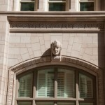 AAS Project: 714 Main Street | Roman Heads Along with Architectural Trim Window Surrounds | Product used Architectural Cast Stone