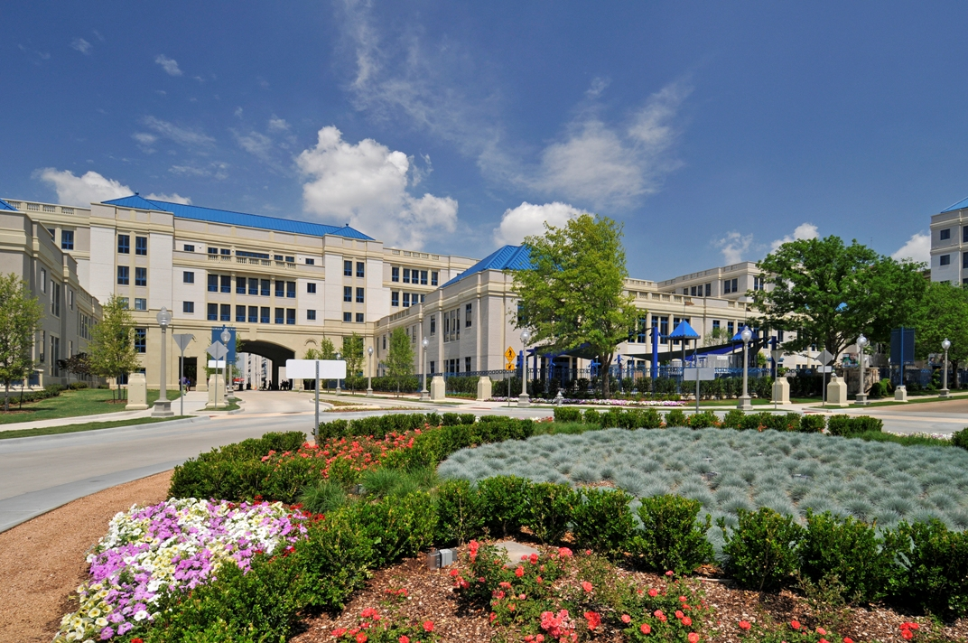 Cooks Children's Hospital | Cast Stone Exterior Blended Seamlessly With Other Buildings that are 25 Years Older |Color Matched Consistently and Precisely