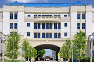 Cooks Children's Hospital | Cast Stone Uniformity and Consistency Helped Create Effect of a Monolithic Structure | Matched Native Limestone of Surrounding Buildings
