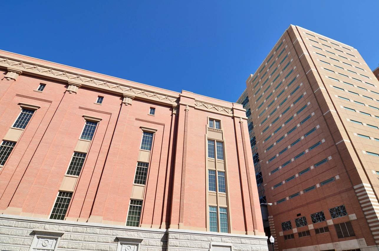Tarrant County Jail Consistent Exterior Appeal using AAS Batch System Technology