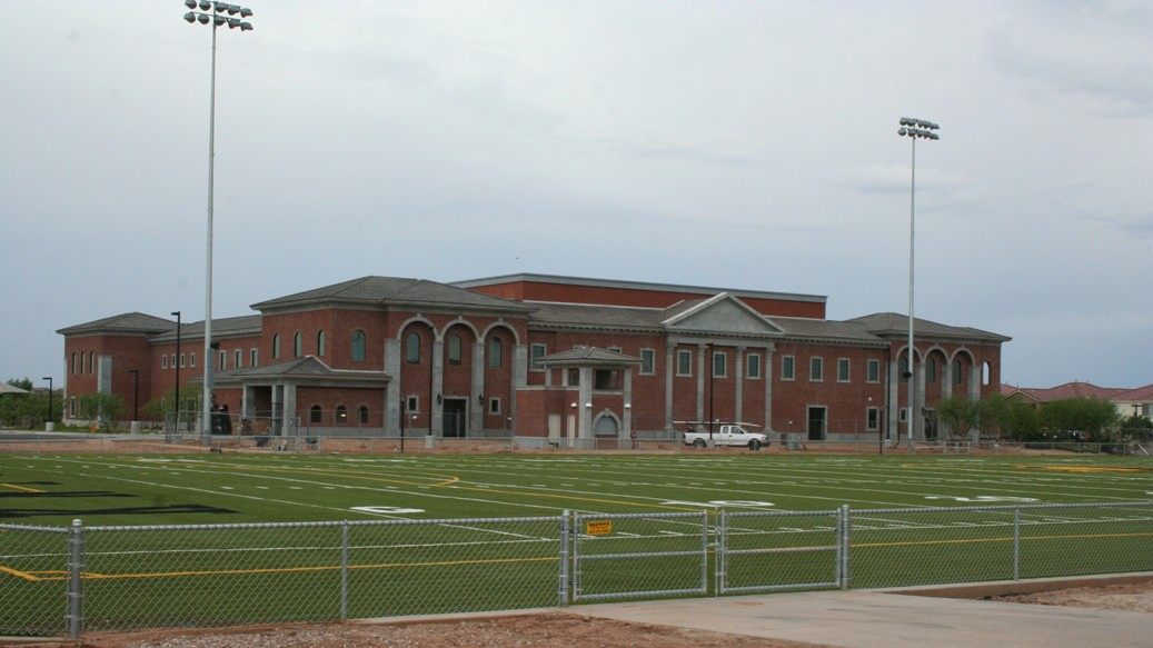 Advanced Architectural Stone (AAS - Formerly ACS) | Gilbert Christian High School Project | Architect: L. Smith - H & S International | Contractor: A R Mays | School Building Enhances the Neighborhood in Scottsdale, AZ
