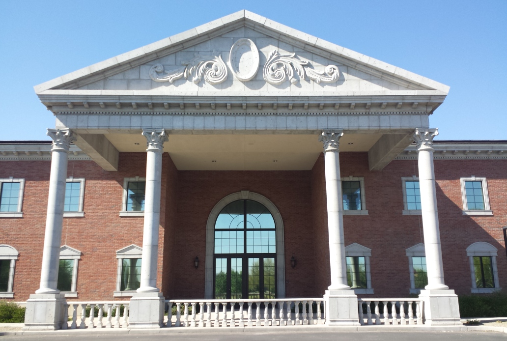Advanced Architectural Stone | Gilbert Christian High School | Architectural GFRC for Balustrade, Columns, Capitals, Window Surrounds, Architectural Trim, Eve Cornice and Decorative/Ornamental Elements