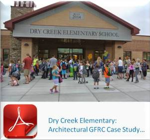 Advanced Architectural Stone (AAS - Formerly ACS) | Architectural GFRC Case Study | Dry Creek Elementary School | LeHi, UT