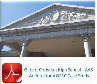Gilbert Christian High School - Architectural GFRC Case Study