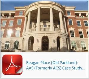 Reagan Place - Old Parkland - AAS Case Study - cast stone, architectural precast, architectural GFRC