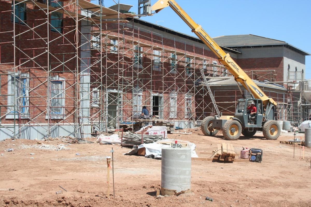 Exterior Cladding using GFRC | Project: Gilbert Christian High School