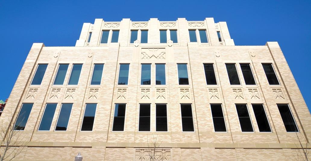 AAS Project: The Westbrook - Sundance Square West - Ft Worth, TX | Art Deco Panels using Cast Stone | Custom Mold Design | Architect: Bennett Benner Pettit, Inc