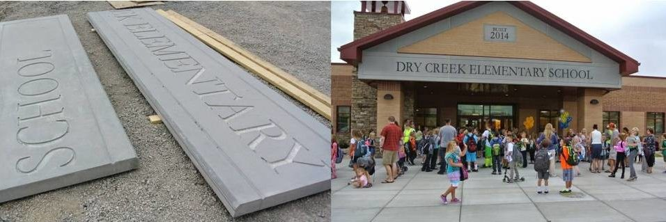 AAS Project: Dry Creek Elementary School | GFRC Panels at Higher Elevation