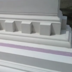 AAS Architectural GFRC | See Manufacturing Process in VIDEO Tour | GFRC Cornice Piece - Ready to Install