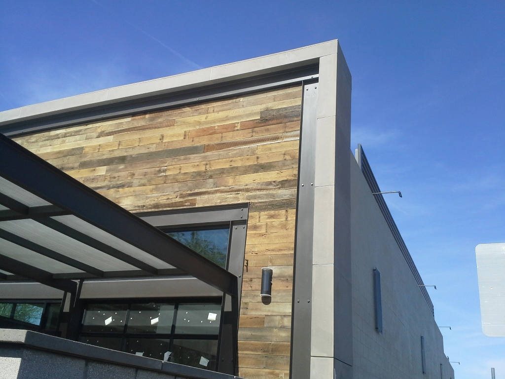 AAS Mesa Precast Plant | Custom Architectural GFRC Panels for Building Veneer - Gilbert Snooze Restaurant, Gilbert, Phoenix, AZ