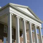 Building Cladding and use of Ionic Columns | Product Used: Architectural Cast Stone | Laura Lee Blanton Building