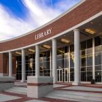 PROJECT: Collin Library | Architectural Cast Stone Columns