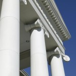 Ionic Columns using Architectural Cast Stone | Laura Lee Blanton Building