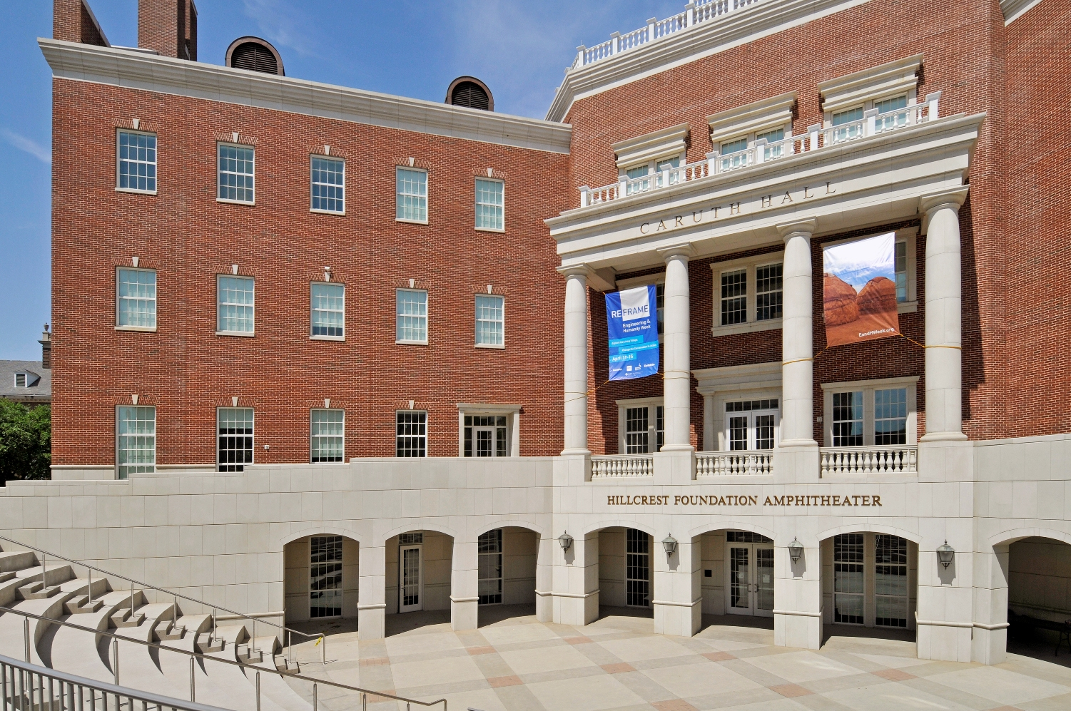 Southern Methodist University - Caruth Hall - Building veneer, cladding using Architectural Cast Stone, Architectural GFRC