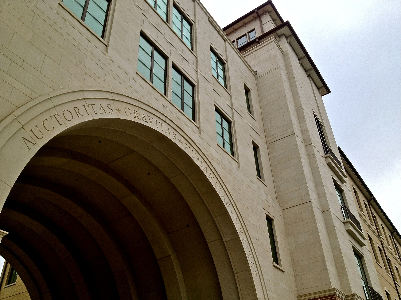 Texas State University | Building Veneer, Cladding using Architectural cast stone, architectural precast concrete