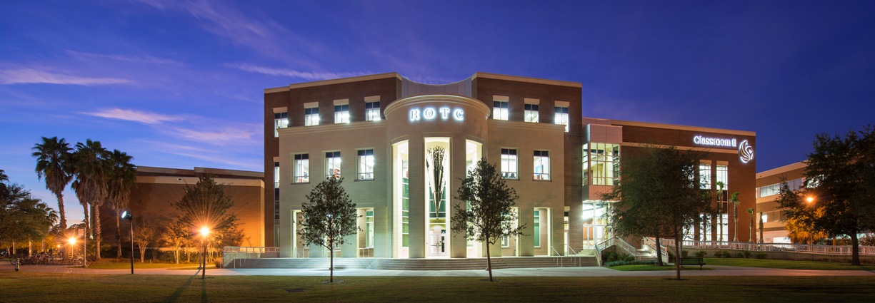 AAS Formerly ACS | Architectural Stone Veneer, Cladding Harmonized new ROTC Building with campus of University of Central Florida (UCF)