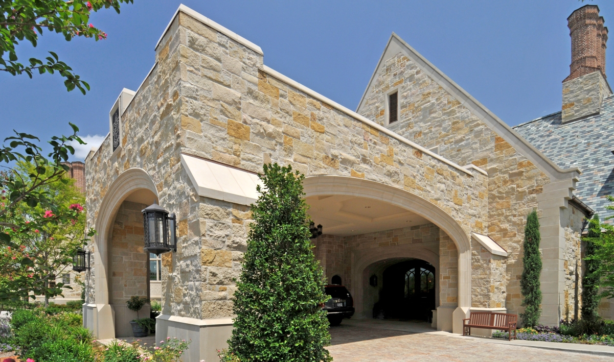 Dallas Country Club | Custom Design of Wall Coping Creating Unique Design Accent | Architectural Cast Stone