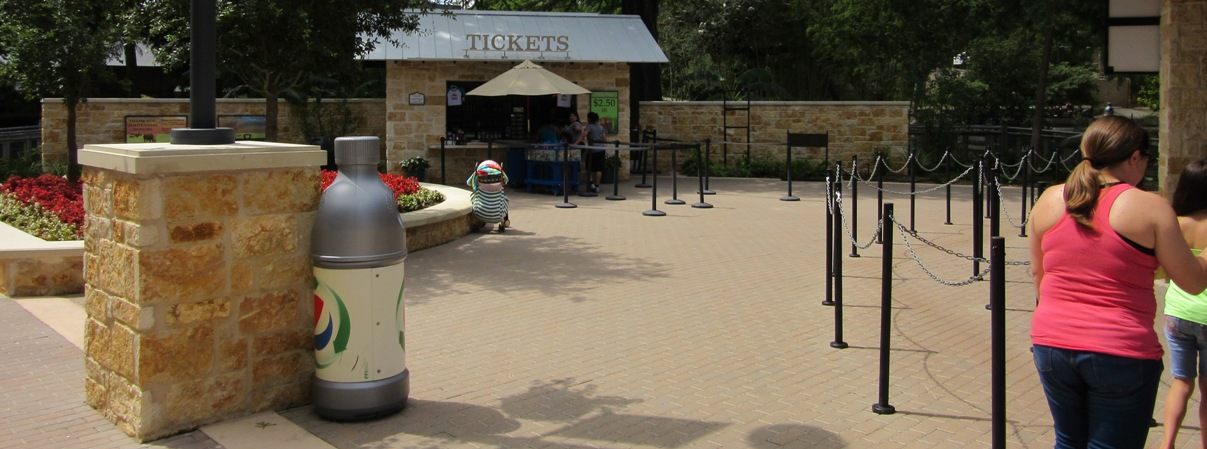 San Antonio Zoo | Wall Caps using Architectural Precast | 2014 APA Award
