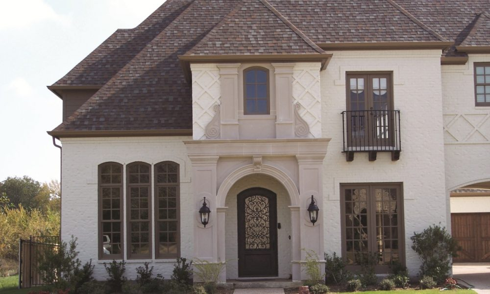 AAS Residential Project Example - Custom Architectural Stone Entry Way Design for Homes