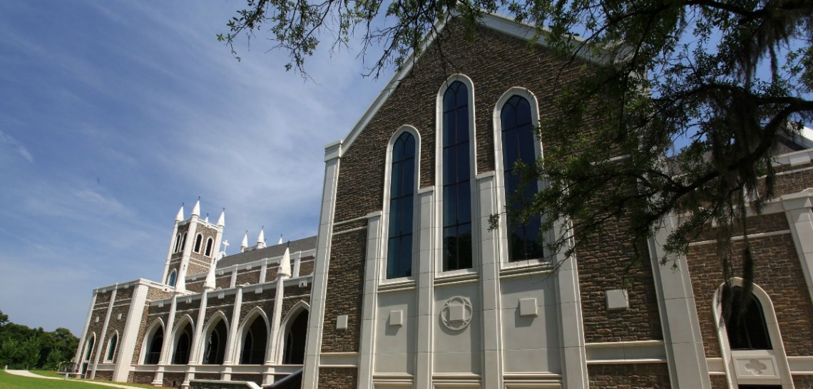 St Peters Anglican Church | Products: Cast Stone, GFRC | Architect: Touchstone Architecture | Childers Construction