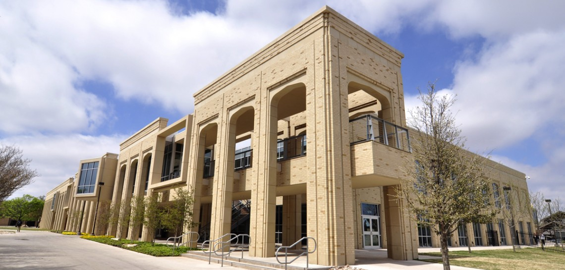 AAS Project: ACU Wellness Center | Products: Architectural Cast Stone, Wet Precast Concrete | Wilks Masonry